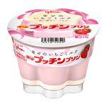 グリコ Bigプッチンプリン 幸せの苺ミルク 155g