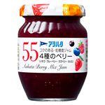 アヲハタ 55 4種のベリー(イチゴ・ブルーベリー・ラズベリー・カシス)150g