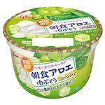 グリコ 朝食アロエ&白ぶどうヨーグルト 140g