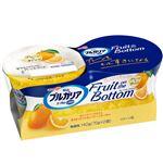 明治 ブルガリアヨーグルトLB81 Fruit on Bottom プレーンとオレンジ 70g×2