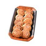 牛豚焼き上げハンバーグステーキ(ミニ)8枚 1パック