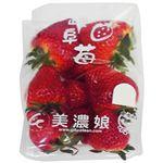 岐阜県、熊本県などの国内産 いちご(品種:濃姫、美濃娘 など)1パック ※品種は当日の入荷によります。(記載品種を優先してご用意します。)