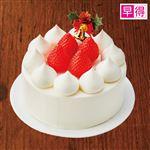 【クリスマス予約】【12月23日、24日、25日の配送になります】 【早得】ラ・フレーズ 苺ショートケーキ 4号 直径約13cm×高さ約5.5cm