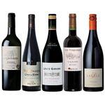 【予約商品】【12月6日~8日の配送となります】 フランス五大産地赤ワインセット 赤×5本/750ml 【M0218】※店頭カタログ記載の「よりどり2セット」はネットスーパーでは対象外となります。