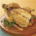 【クリスマス予約】【12月22日、23日、24日、25日の配送になります】 ローストホールチキン(ハーブ&ソルト)(原料肉/国産) 1羽(約750g) 【M0064】