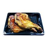 【クリスマス予約】【12月22日、23日、24日、25日の配送になります】 鹿児島県桜島鶏のもも溶岩焼き(照焼き) 2本 【M0155】