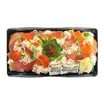 【ひなまつり予約】【3月3日の配送になります】 皆で食べる紅ずわいがにの海鮮ひなちらし1パック 【M0046】