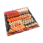 10種海鮮の味わい握り寿司(北海道ほたて)50貫(わさび抜き)1パック