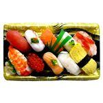 【出前のお寿司予約 トレー】2種の海老が嬉しい味わい握り寿司 10貫【わさびあり】