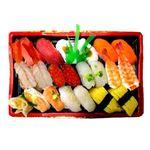 【出前のお寿司予約 トレー】2種の海老が嬉しい味わい握り寿司 20貫【わさびあり】