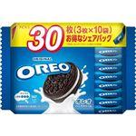 モンデリーズ・ジャパン オレオファミリーパック バニラクリーム 3枚×10袋