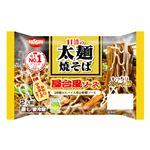 日清 日清の太麺焼そば 屋台風ソース からしマヨネーズ付き 2人前 350g(300g)