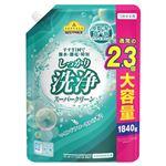 トップバリュベストプライス 衣料用液体洗剤 洗浄スーパークリーン つめかえ大容量 1840g