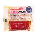 トップバリュ 低糖質中華風麺冷やし中華風スープ付き 145g