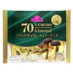 トップバリュ カカオ70%ブラックチョコレート&アーモンド 100g