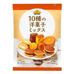 トップバリュベストプライス 10種の洋菓子ミックス 185g