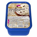 トップバリュ クッキー&クリームアイスクリーム 1000ml