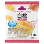 【冷凍】トップバリュ 白桃 糖漬け 110g