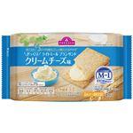 トップバリュ ざっくりライトミール ブランサンド クリームチーズ味 4枚