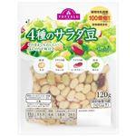 トップバリュ 4種のサラダ豆 120g