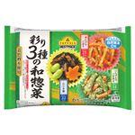 トップバリュ 彩り3種の和惣菜 90g(6カップ)