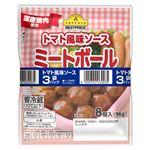 トップバリュベストプライス ミートボール トマト風味ソース 96g×3