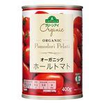 トップバリュ グリーンアイ オーガニックホールトマト 400g