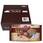 【ケース販売】トップバリュ ざっくりライトミール ブランサンド カカオ味 4枚×6個