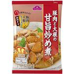 トップバリュ 豚肉と大根の甘旨炒め煮 100g(50g×2袋)