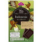 トップバリュ チョコタブレット インドネシア産カカオ70% 40g(5g×8)