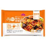 【冷凍商品】トップバリュ CooKit 豚肉となすの甜麺醤炒め 約2人前(450g)