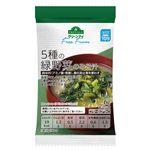 トップバリュ グリーンアイ フリーフロム 5種の緑野菜のみそ汁 1食