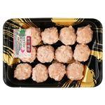 トップバリュ グリーンアイ ナチュラル 純輝鶏肉だんご(軟骨鴨脂入り)12個 1パック