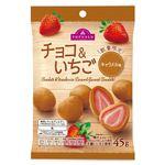 トップバリュ チョコ&いちご キャラメル味 45g