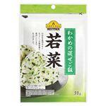 トップバリュベストプライス わかめの混ぜご飯 若菜 31g
