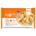 【ミールキット予約】 【冷凍】トップバリュ CooKit 豚肉と根菜のしょうが炒め 約2人前 450g