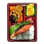 トップバリュ 紅鮭とこだわり煮物のお弁当※14時以降でのお届けとなります。