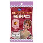 イオン×ディズニー アナと雪の女王2  4種のドライフルーツ入りミルクチョコ 45g