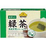 トップバリュベストプライス 抹茶入緑茶ティーバッグ 2g×20袋