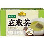 トップバリュベストプライス 抹茶入玄米茶ティーバッグ 2g×20袋