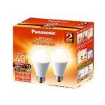 パナソニック LED電球 4.4W 2個セット(電球色相当)