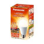 パナソニック LED電球 E26口金 60W形(電球色)