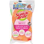 スリーエムジャパン Scotch-brite(スコッチ・ブライト)スクラブドット清潔スポンジ オレンジ 1個
