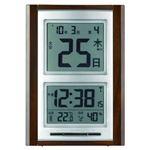 アデッソ カレンダー付き 電波掛置兼用時計 NA-101