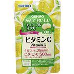 オリヒロ かんでおいしいチュアブルサプリ ビタミンC 60g(500mg×120粒)