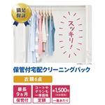 保管付衣類クリーニングパック(6点)※商品説明をご確認ください。
