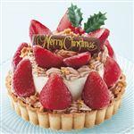 【クリスマス予約】【12月22日、23日、24日、25日の配送になります】 カラフル 苺のアイスケーキ 直径約12cm×高さ約8cm