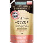 ラボン 柔軟剤入洗剤 シャンパンムーンの香り つめかえ用 750g