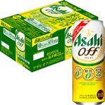 【ケース販売】 アサヒビール オフ 500ml×24缶入[ケース販売は合計10ケースまでの配送とさせていただきます]