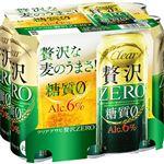アサヒビール クリアアサヒ 贅沢ゼロ 500ml×6